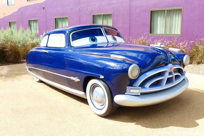 Disney Art of Animation - Cars Courtyard - Doc Hudson Model