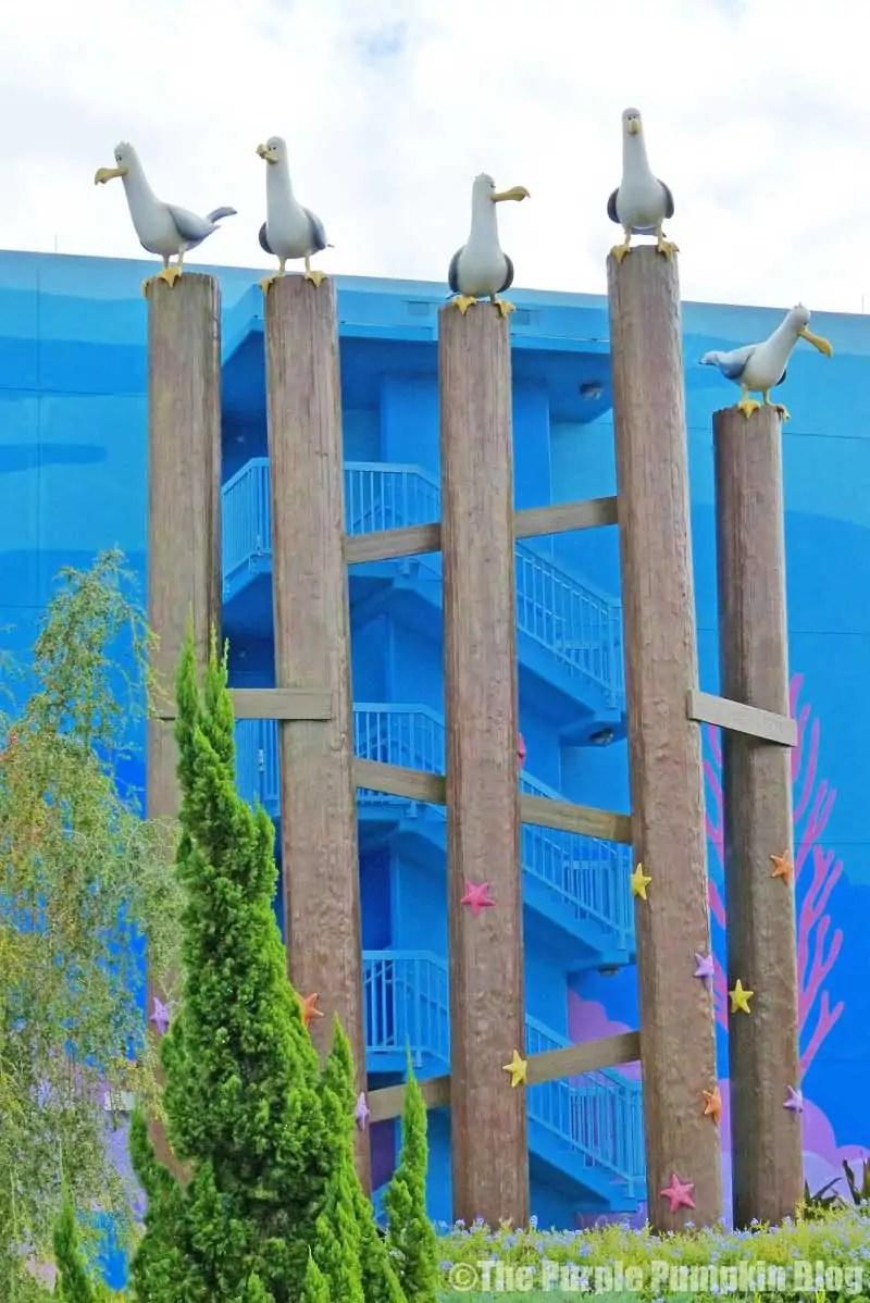 Disney Art of Animation - Finding Nemo Courtyard