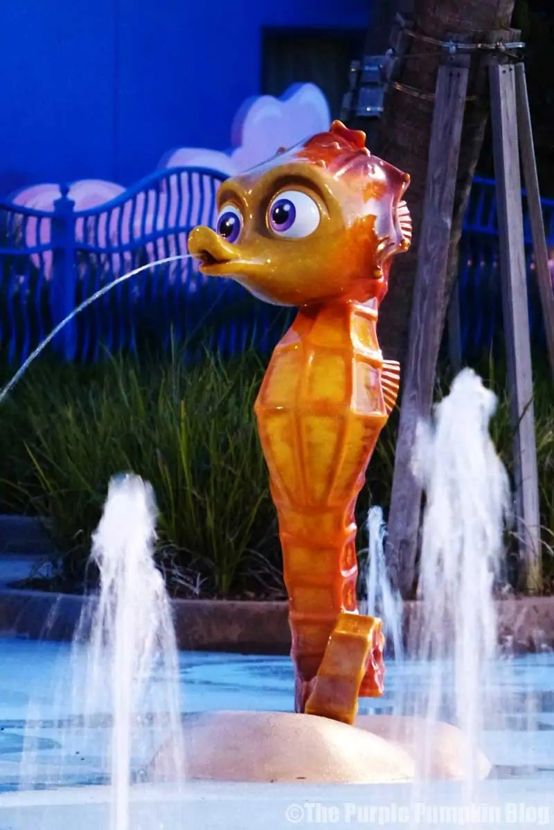 Disney Art of Animation - Finding Nemo - The Big Blue Pool - Sheldon
