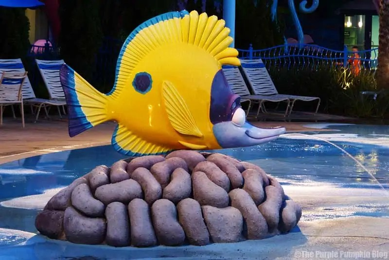 Disney Art of Animation - Finding Nemo - The Big Blue Pool - Tad