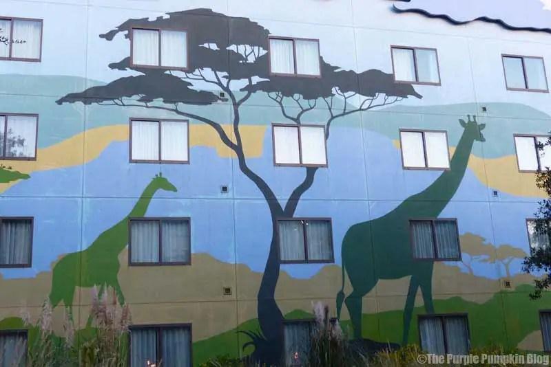 Disney Art of Animation - The Lion King Courtyard
