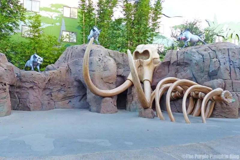 Disney Art of Animation - The Lion King Courtyard - Elephant Graveyard