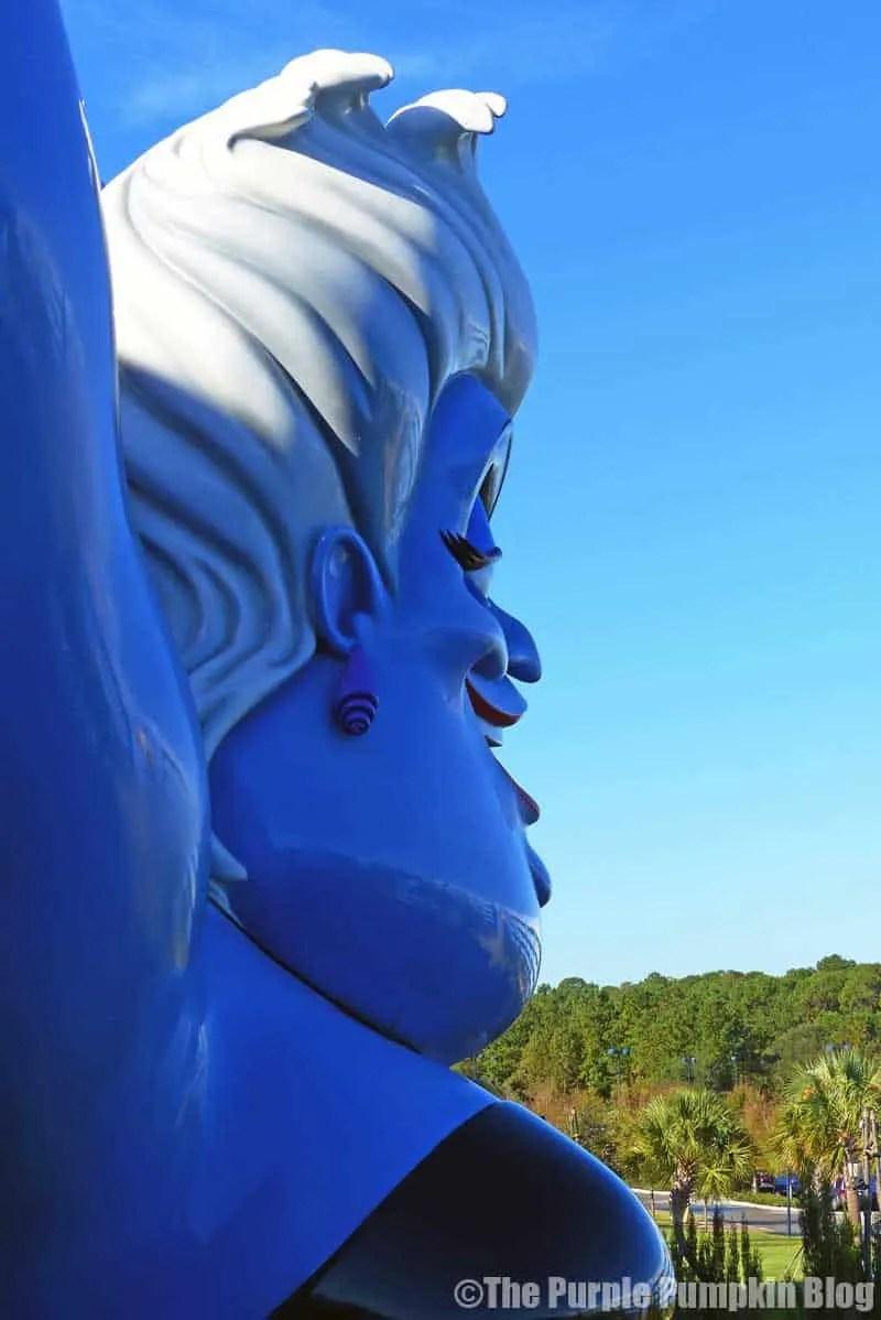 Disney Art of Animation - The Little Mermaid Courtyard - Ursula Statue
