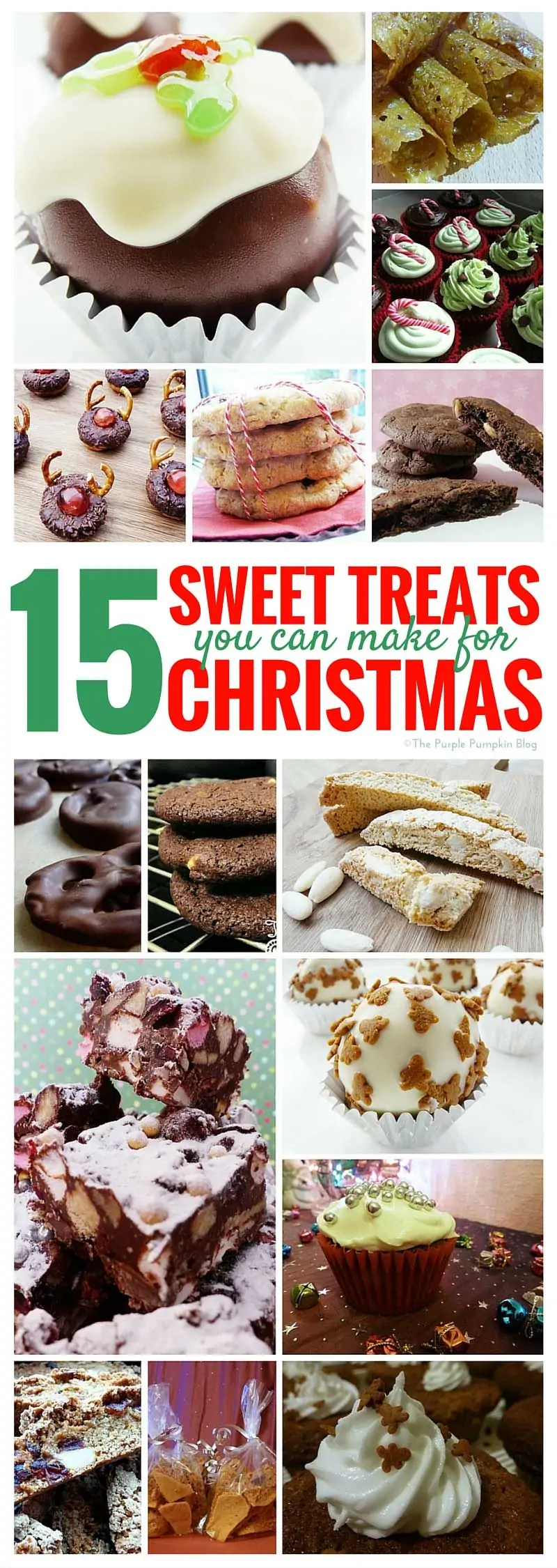 15 Sweet Treats You Can Make For Christmas