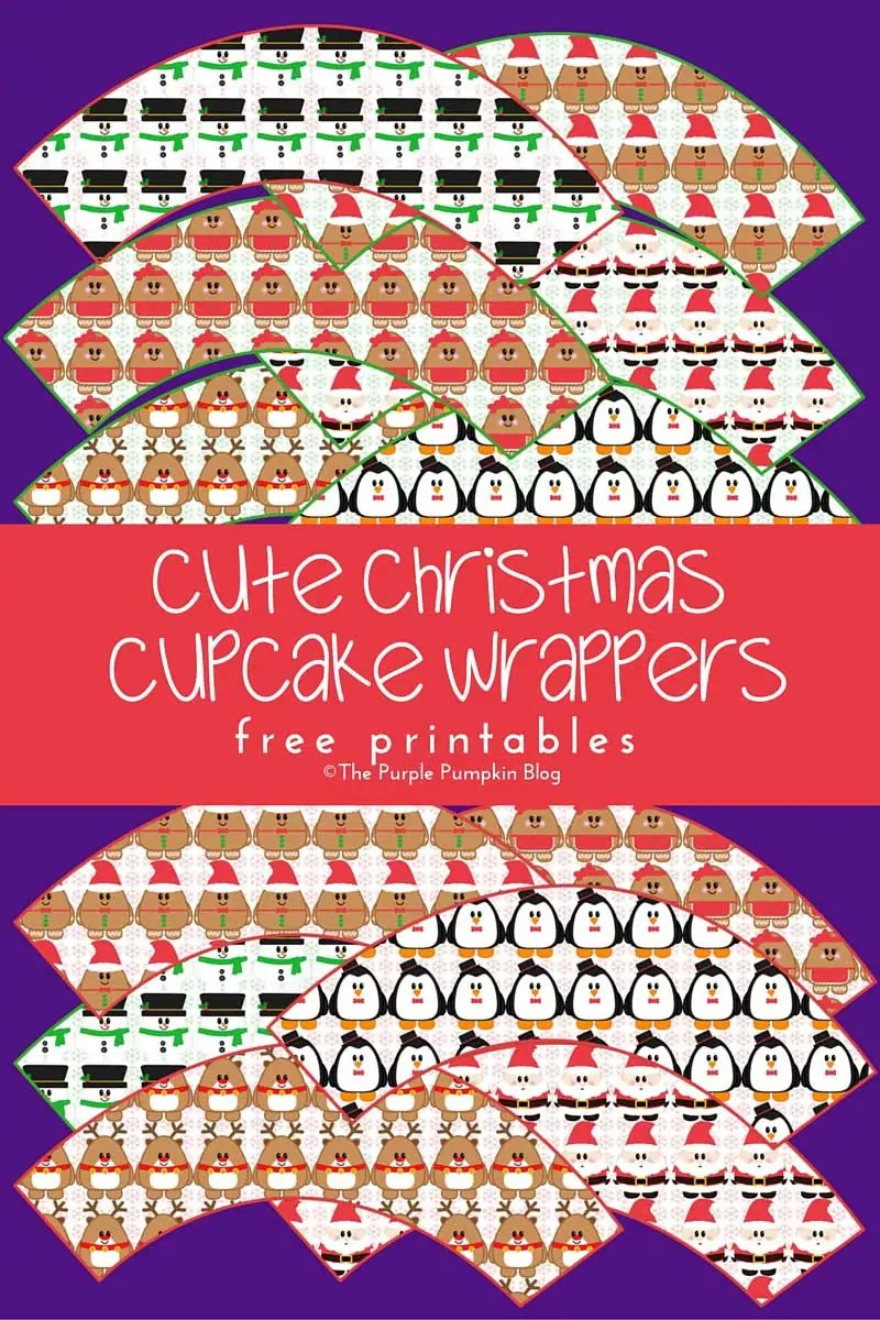 Free Printables! Cute Christmas Cupcake Wrappers + loads more great printables on this blog.