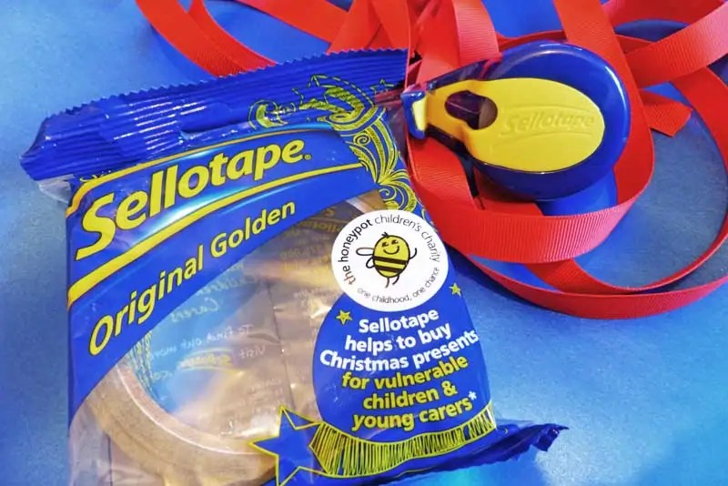 Sellotape - Share The Magic Of Giving