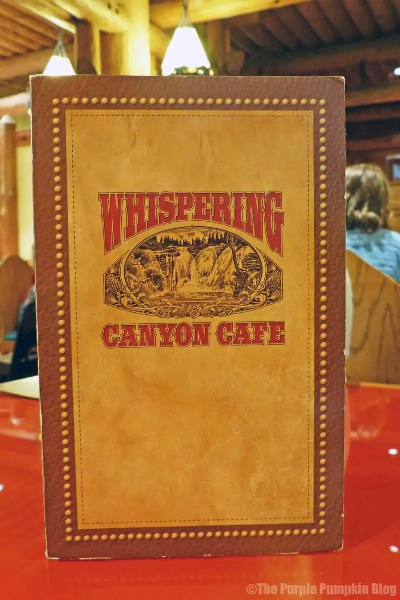 Whispering Canyon Cafe at Wilderness Lodge