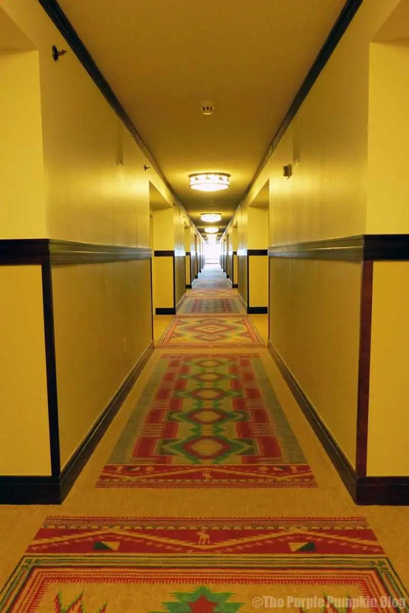 Wilderness Lodge Hotel Corridor