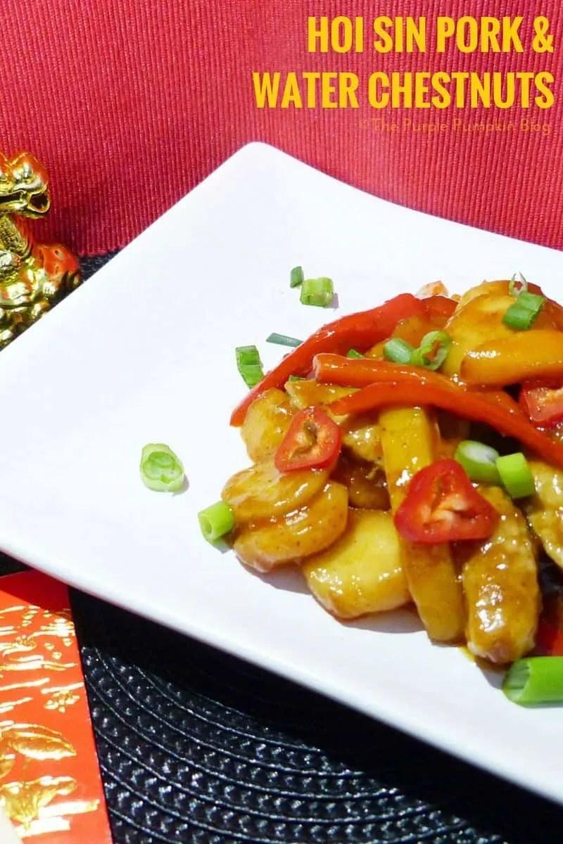 Hoi Sin Pork & Water Chestnuts