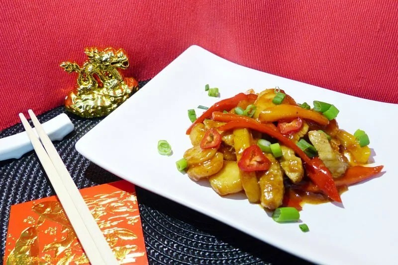 Hoi Sin Pork with Water Chestnuts Stir Fry