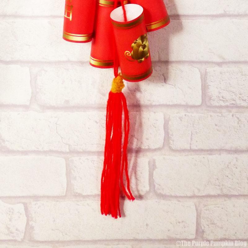 CNY Firecrackers tassel