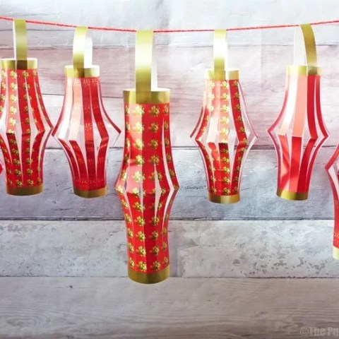 Chinese New Year Paper Lanterns Free Printables