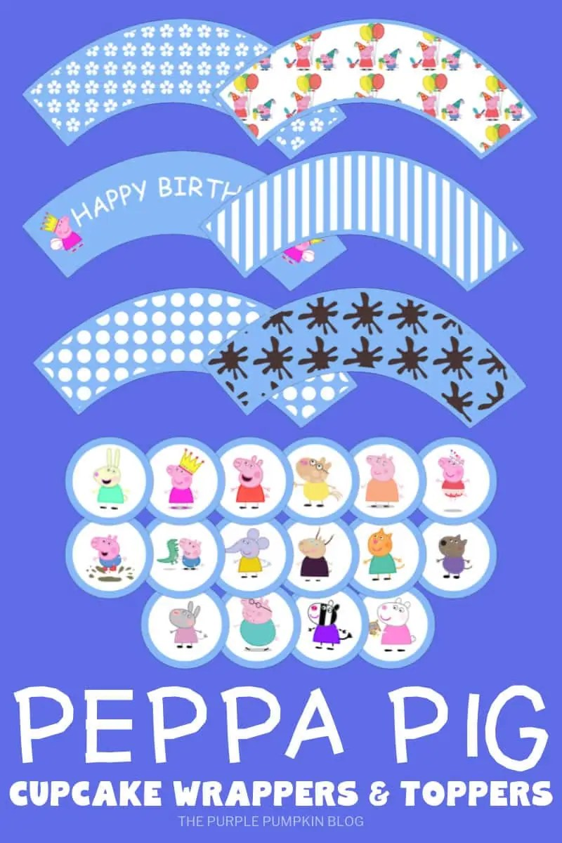 picture relating to Peppa Pig Template Printable called Peppa Pig Occasion Printables + Pleasurable Celebration Guidelines