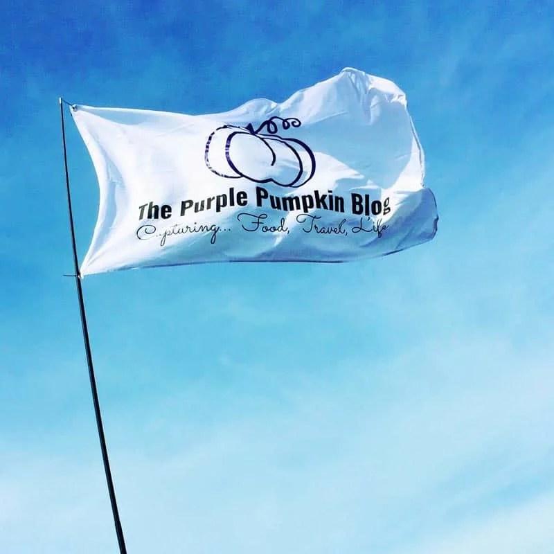 The Purple Pumpkin Blog Flag