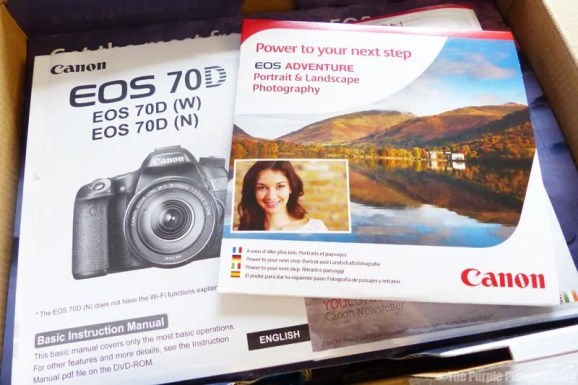 Canon EOS 70D - My First DSLR Camera
