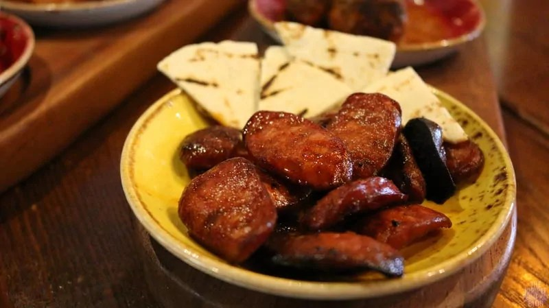 Chiquito - Street Food - Pan-Fried Chorizo