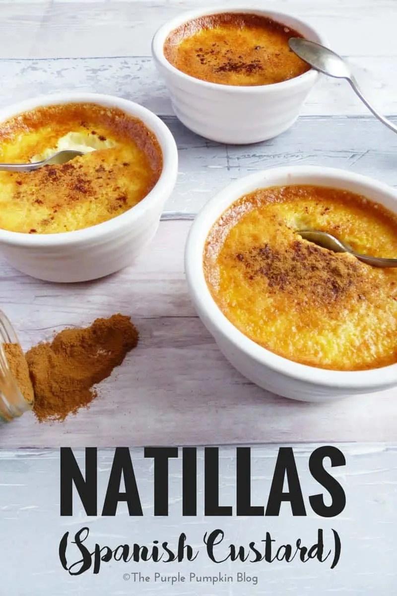 How to make Natillas - Spanish Custard