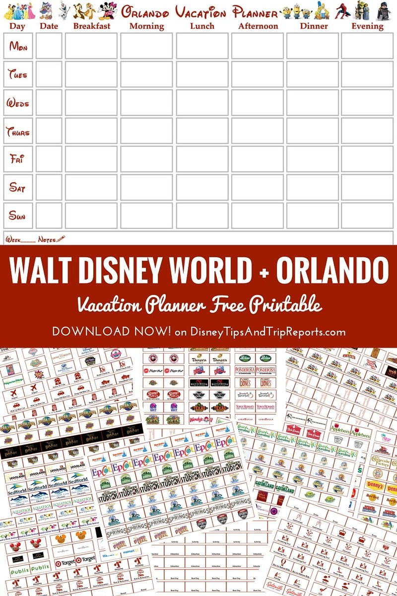Orlando walt disney world vacation planner free for Planning colorado vacation