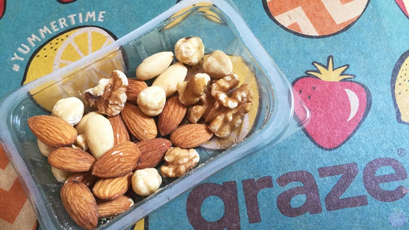 Graze Box - #Yummertime - Natural Energy Nuts