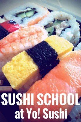 Sushi School at Yo! Sushi - Chelmsford, Essex