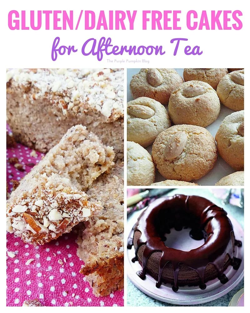 Gluten Free and Dairy Free Cakes for Afternoon Tea + 47 more great recipes for afternoon tea!