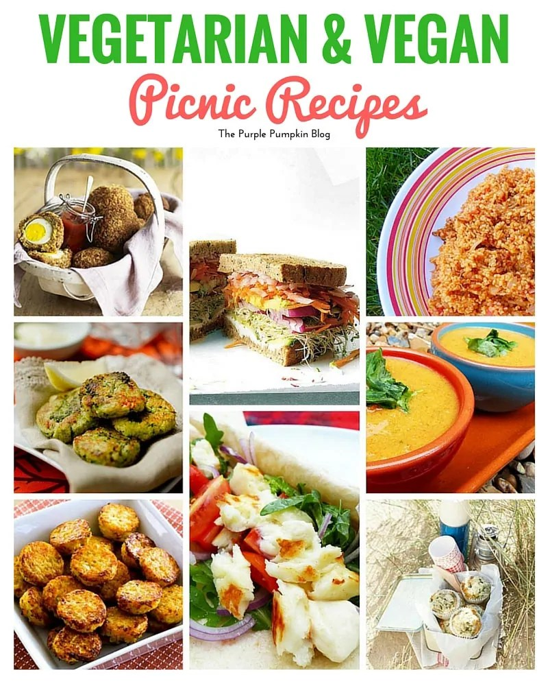 These vegetarian and vegan picnic recipes are a winner. Plus 42 more picnic recipes to try
