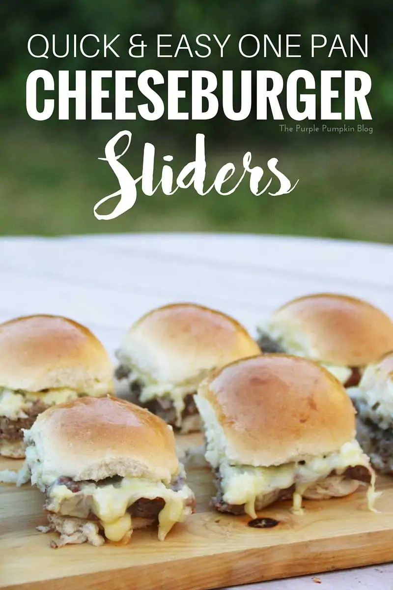 Quick & Easy One Pan Cheeseburger Sliders