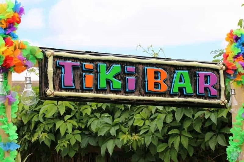 Homemade Tiki Bar