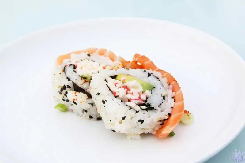 Salmon Dragon Roll - Yo! Sushi