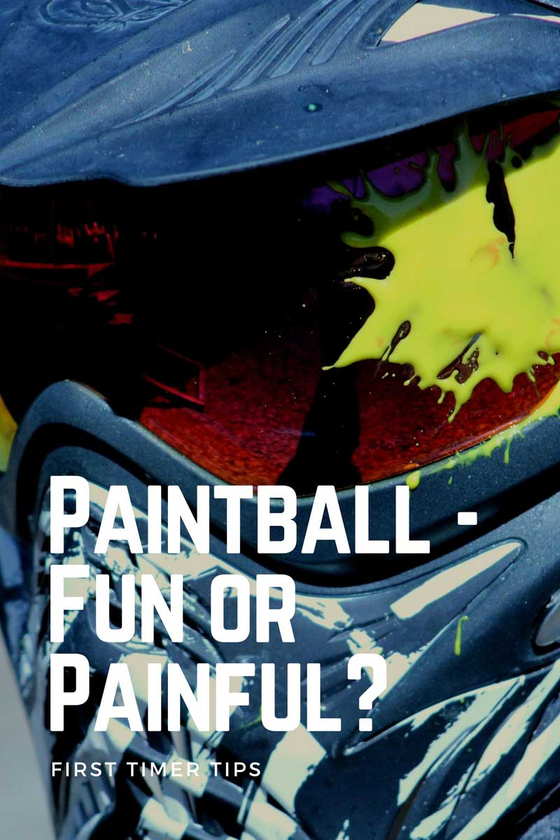 Paintball - Fun or Painful? First Timer Tips