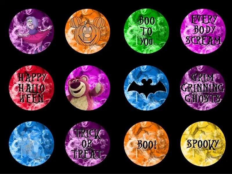 Disney Villains Cupcake Toppers - Free Printables + TONS of FREE Halloween Printables on this website. MUST PIN THIS!