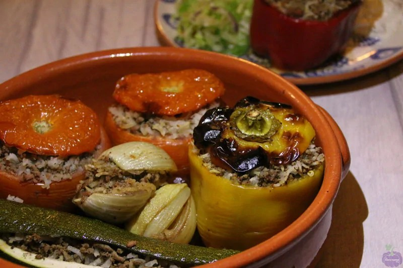 Greek-Cypriot Stuffed Vegetables Recipe