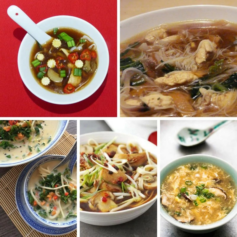 Recipes for Chinese Soups