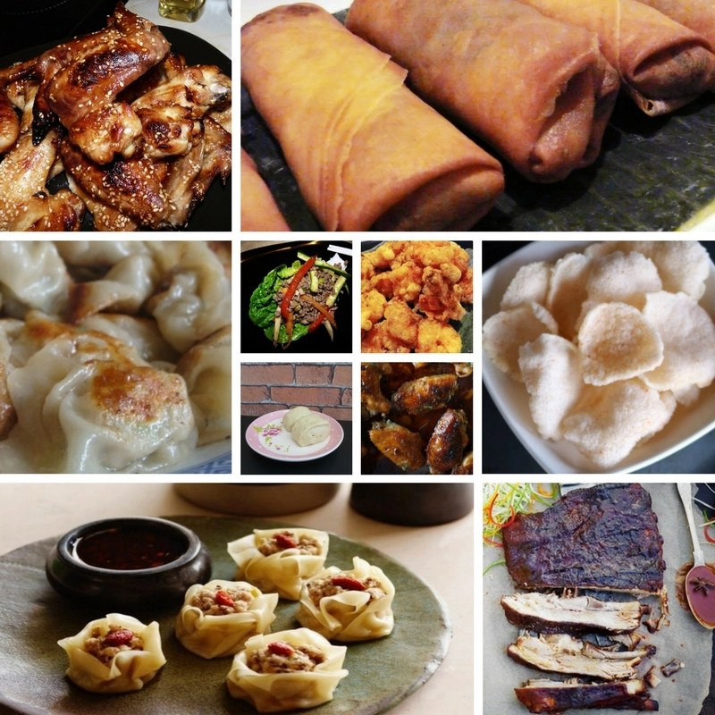 Recipes for Chinese Starters + Appetizers