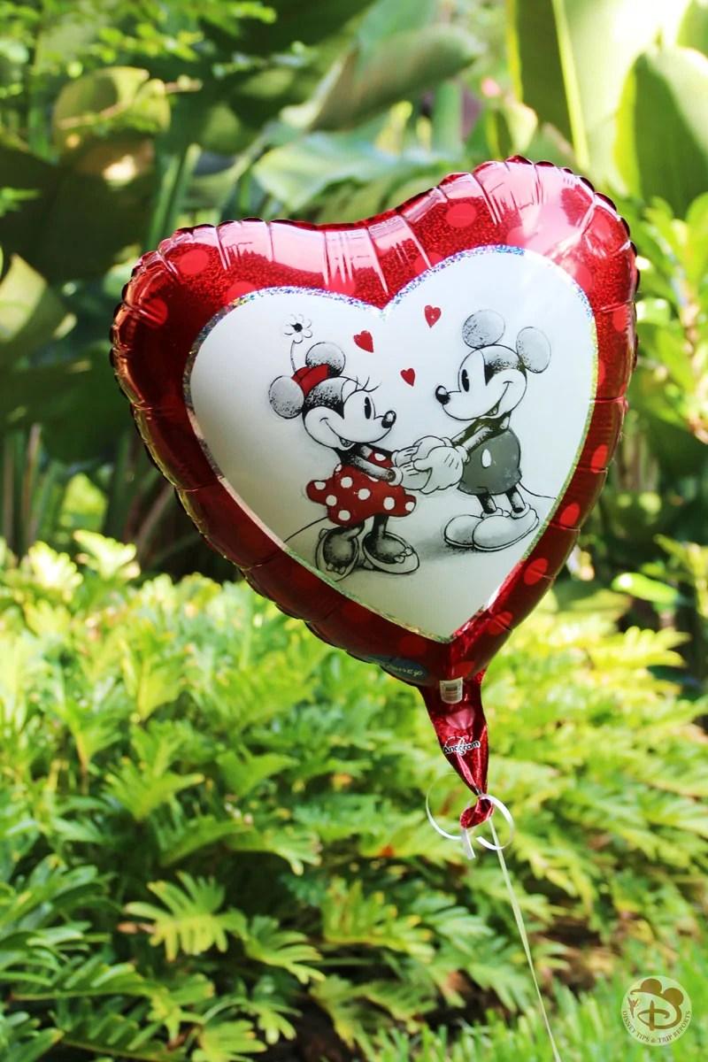 Disney Heart Shaped Balloon