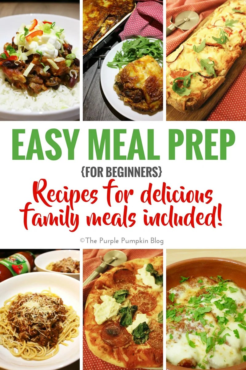 Easy meal prep for beginners thankgoodness for dolmio for Easy things to make for dinner for two