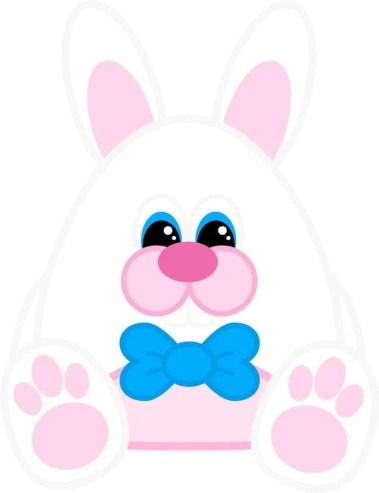 Free Printable Easter Bunny (Boy)