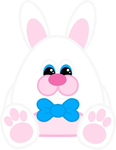 Free Printable Easter Bunny (Boy)