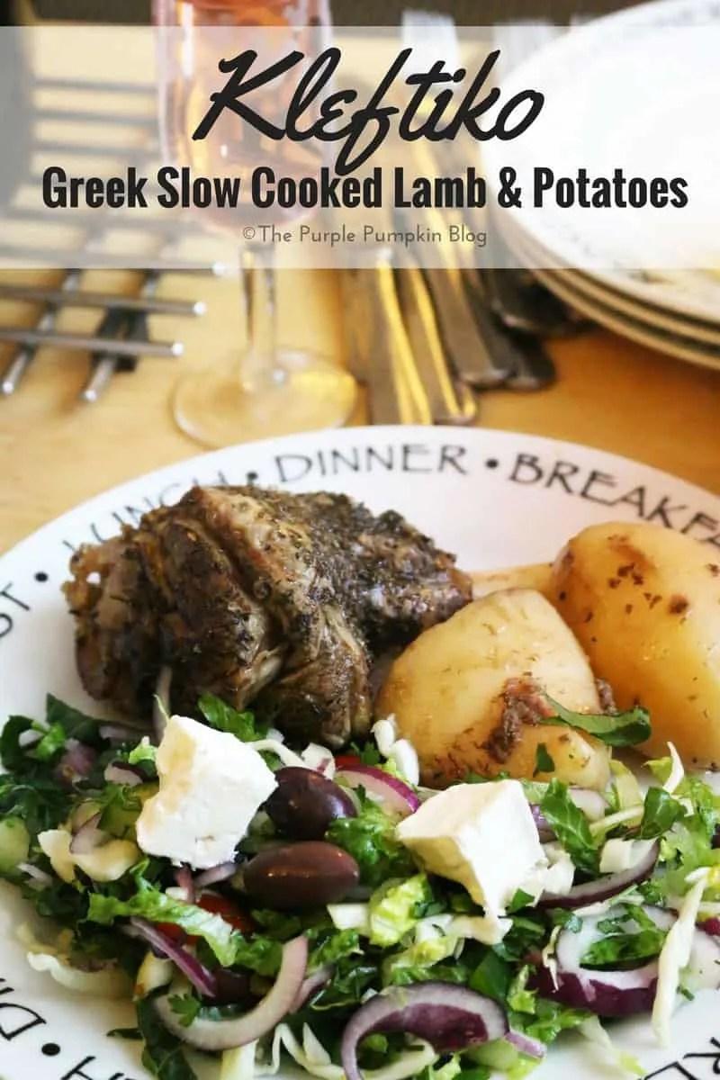 Kleftiko - Greek Slow Cooked Lamb