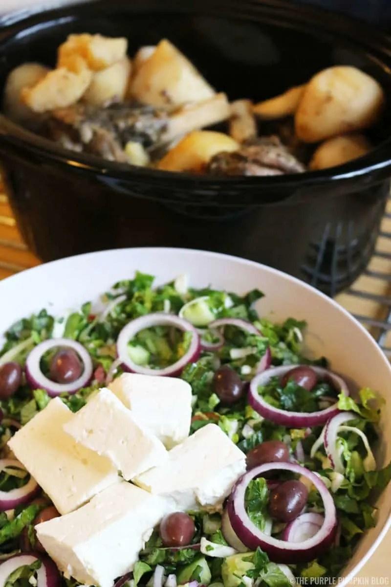 Slow Cooked Lamb & Potatoes - Greek-Cypriot Recipe