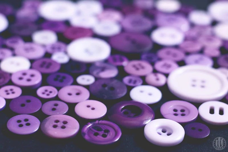 Project 365 - 2017 - Day 130 - Purple Buttons