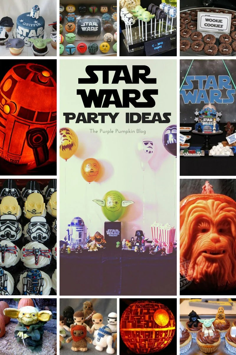 Star Wars Party Ideas! May the Fourth Be With You! Celebrate Star Wars the whole year round with these Star Wars Party Ideas!