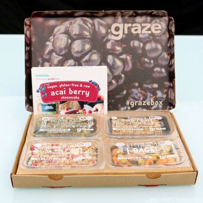 graze box variety box review