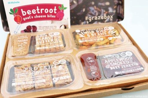 graze box variety box review
