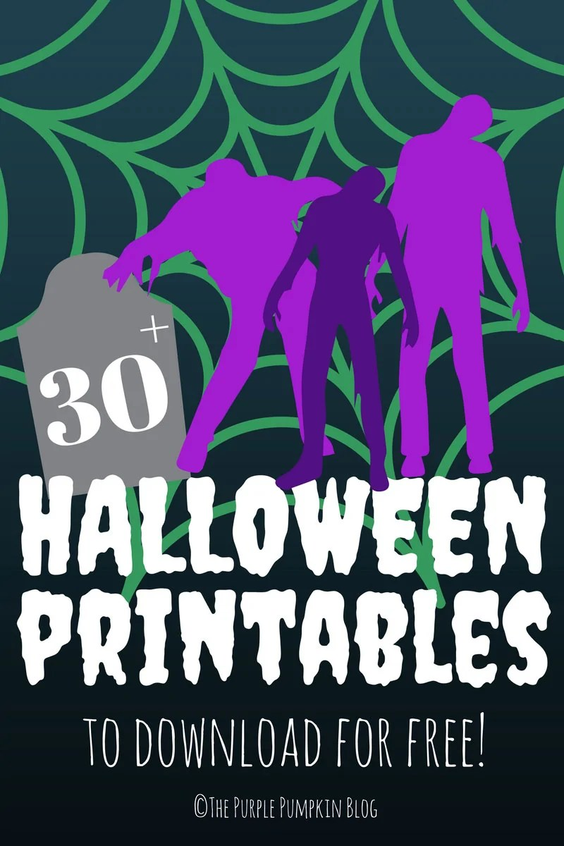 If you're looking for Free Halloween Printables you've come to the right place! There are lots of awesome Halloween printables including Halloween Party Sets, Subway Art Posters, Pumpkin Stencils, Trick or Treat Printables, and Halloween Crafts. The Purple Pumpkin Blog is your one-stop-shop for all things Halloween!