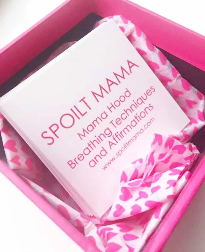 Spoilt Mama Affirmation Cards