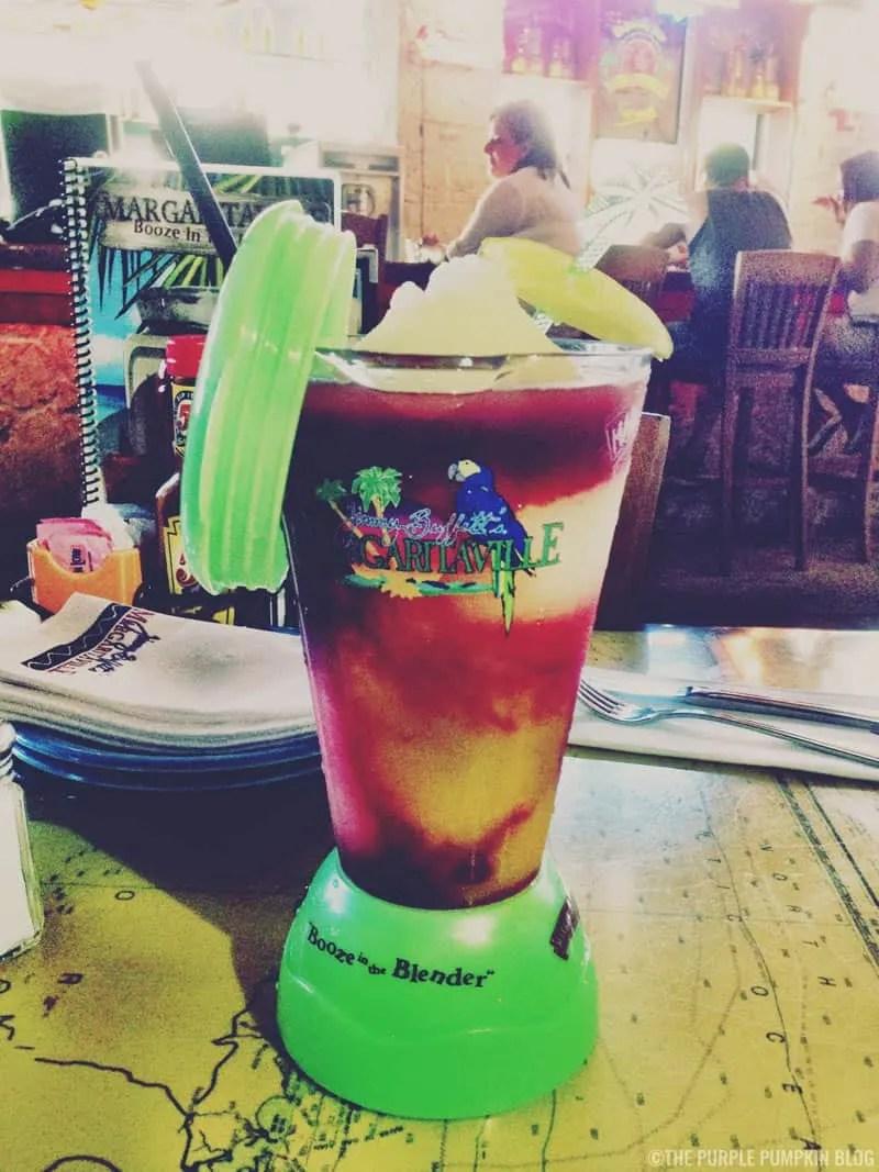 Booze In The Blender - Margaritaville, Universal's City Walk