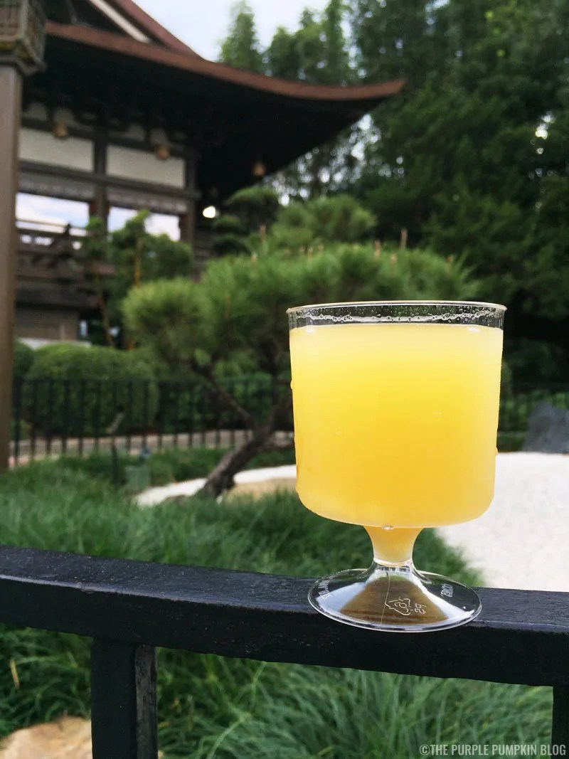 Cocktails at Epcot Food & Wine