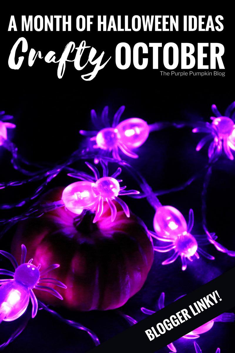 Crafty October 2017 Blogger Linky