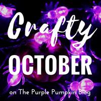 Crafty October on The Purple Pumpkin Blog